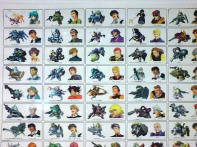 Bandai Ps1 Game G Generation F Gundam Posters Rare Ebay